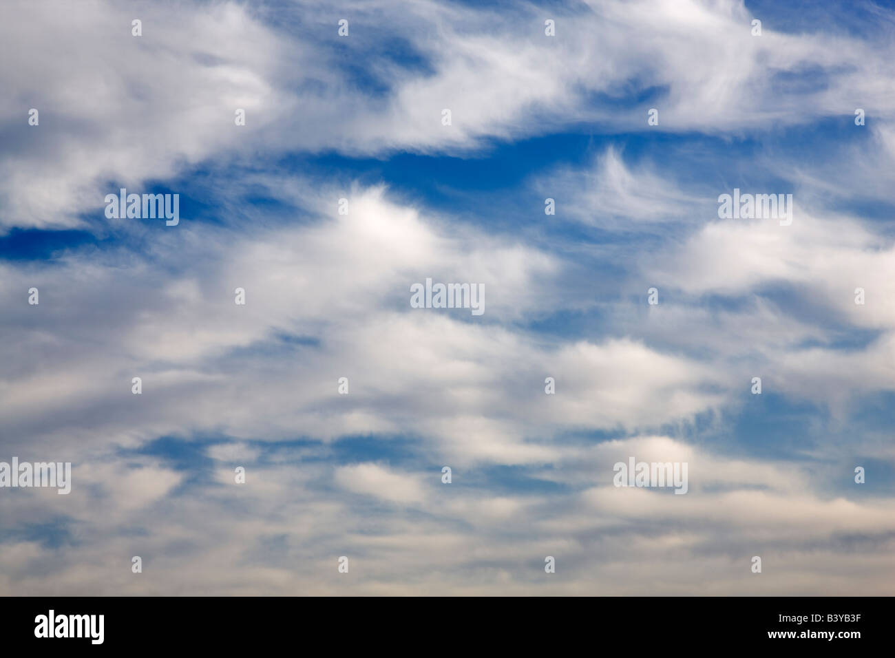 Cloud patterns. - Stock Image