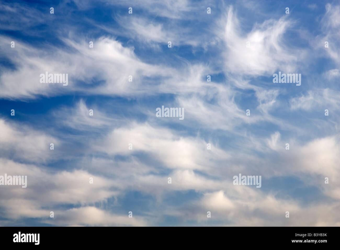 Cloud patterns. Stock Photo