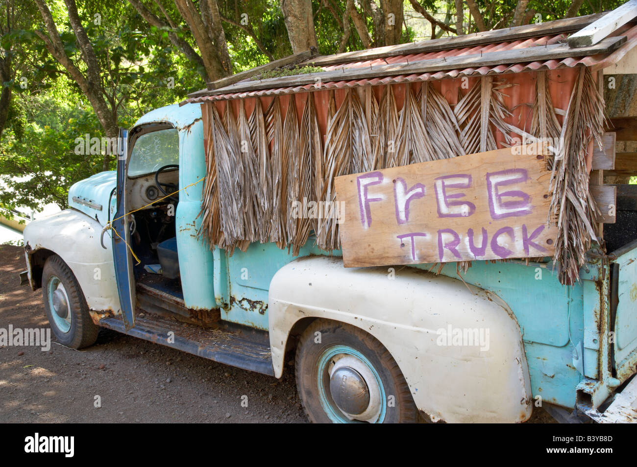 Old pick up truck for sale Maui Hawaii Stock Photo: 19655901 - Alamy