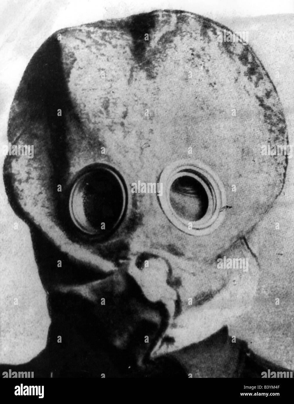 events first world war wwi western front gas warfare