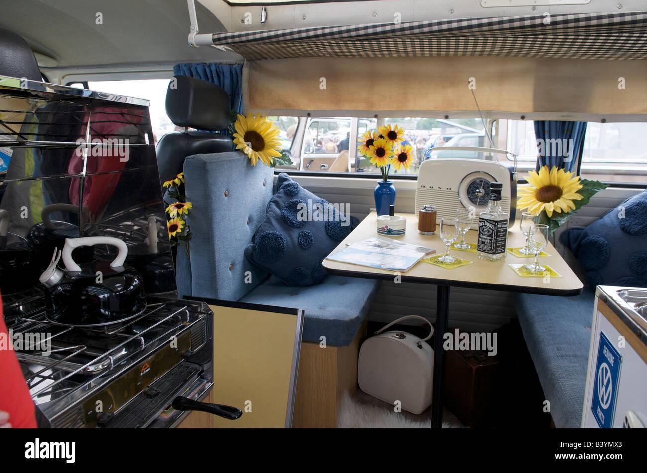 Volkswagen Type 2 Transporter Camper Van Interior