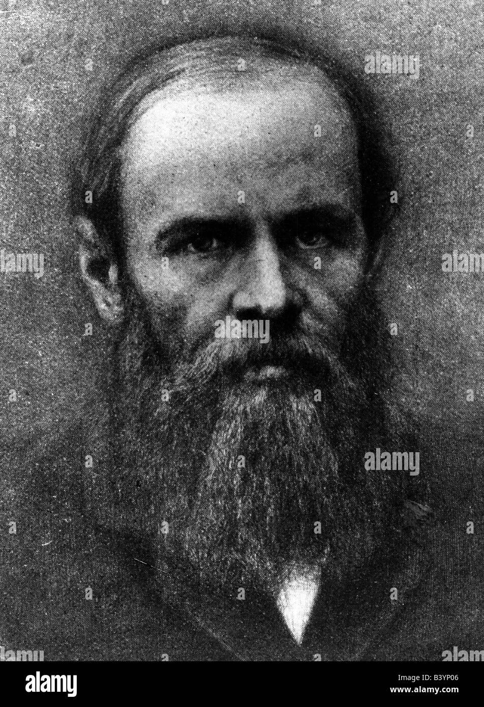 Dostoevsky, Fyodor Mikhailovich, 11.11.1821 - 9.2.1881, Russian writer, novelist, portrait, Additional-Rights-Clearances - Stock Image