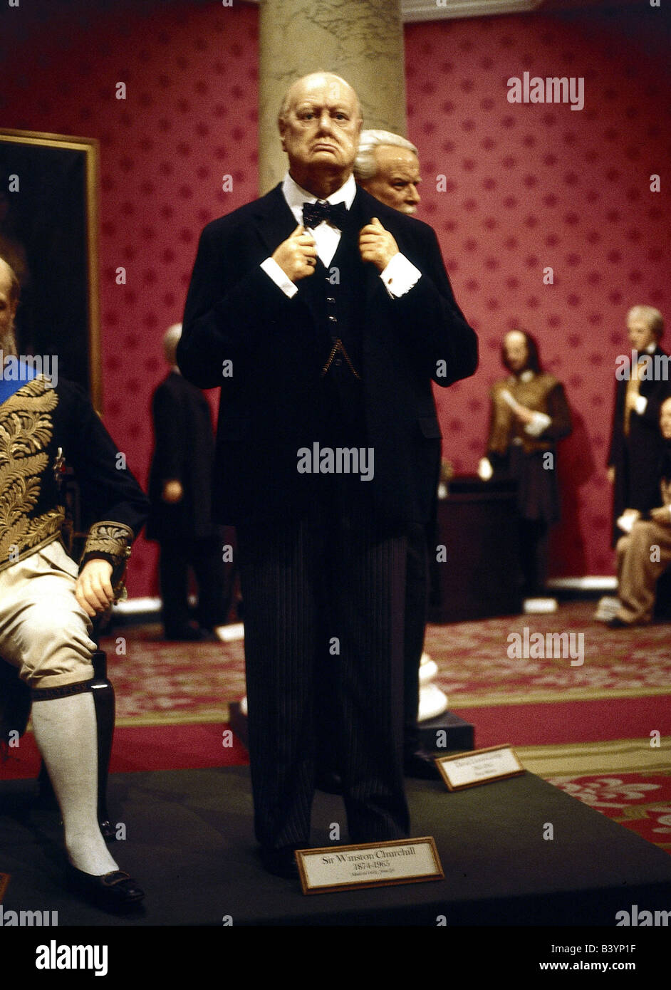 geography / travel, Great Britain / United Kingdom, England, London 'Madam Tussaud', wax figures, cabinet, - Stock Image