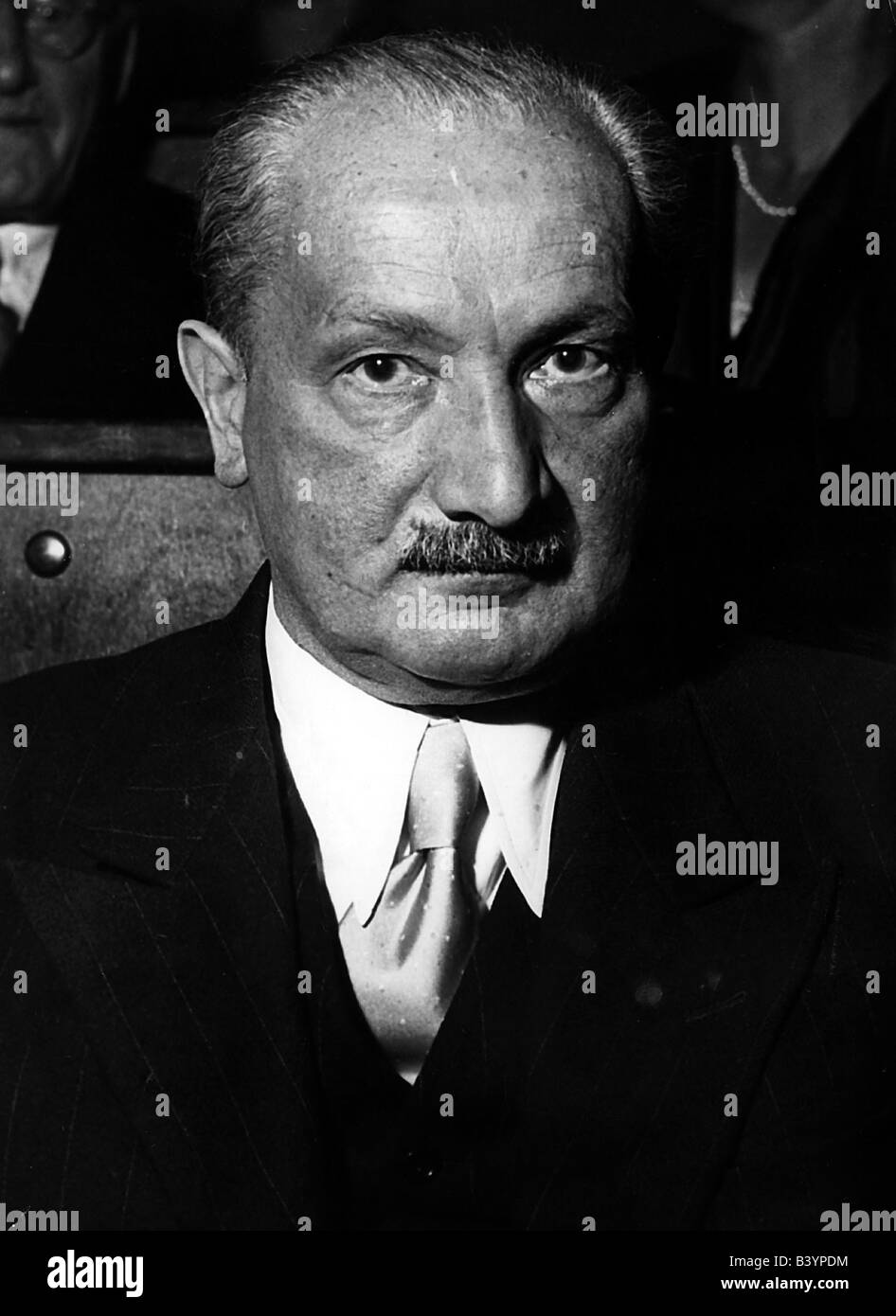 Heidegger, Martin, 26.9.1889 - 26.5.1976, German philosopher, portrait, circa 1962, philosophy, , Additional-Rights - Stock Image