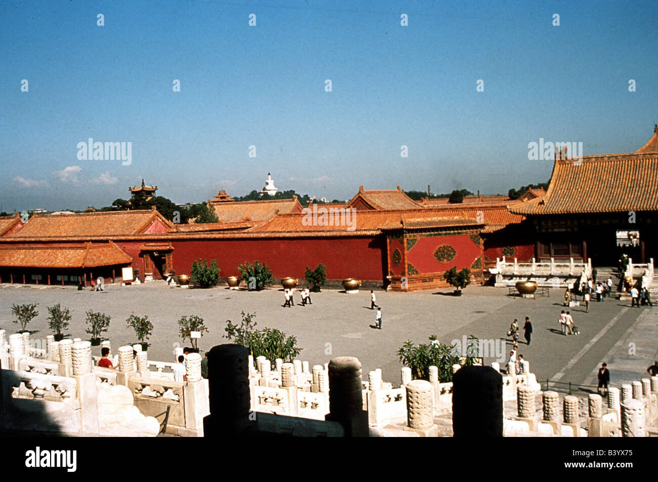 geography / travel, China, Beijing, emperor palace in the forbidden city, UNESCO, World Heritage Site, Stock Photo