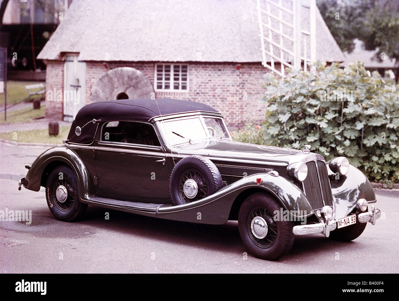 transport / transportation, cars, models, Horch 8 Cabriolet, 1939, Additional-Rights-Clearances-NA - Stock Image
