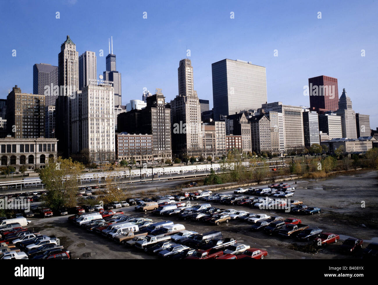 Chicago Car Park High Resolution Stock Photography And Images Alamy