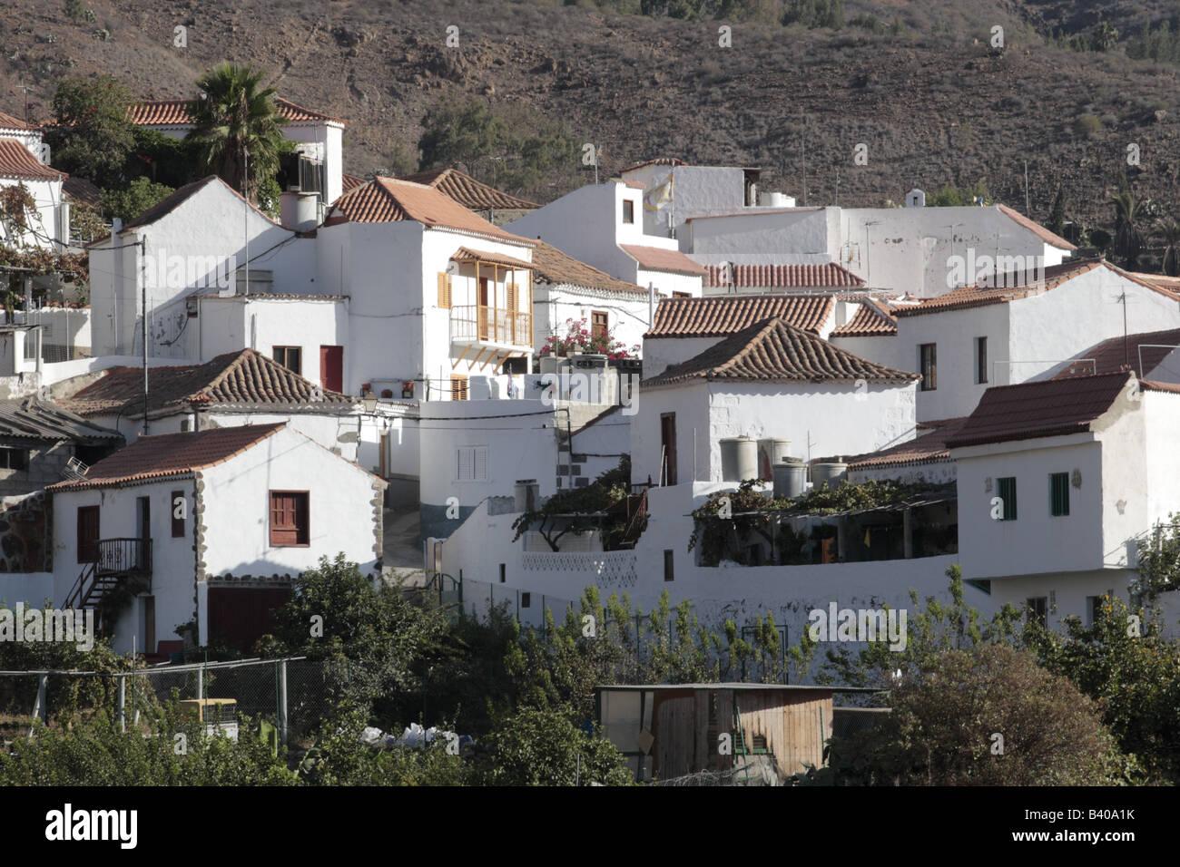 Gran Canaria Old Village House Stock Photos Gran Canaria Old