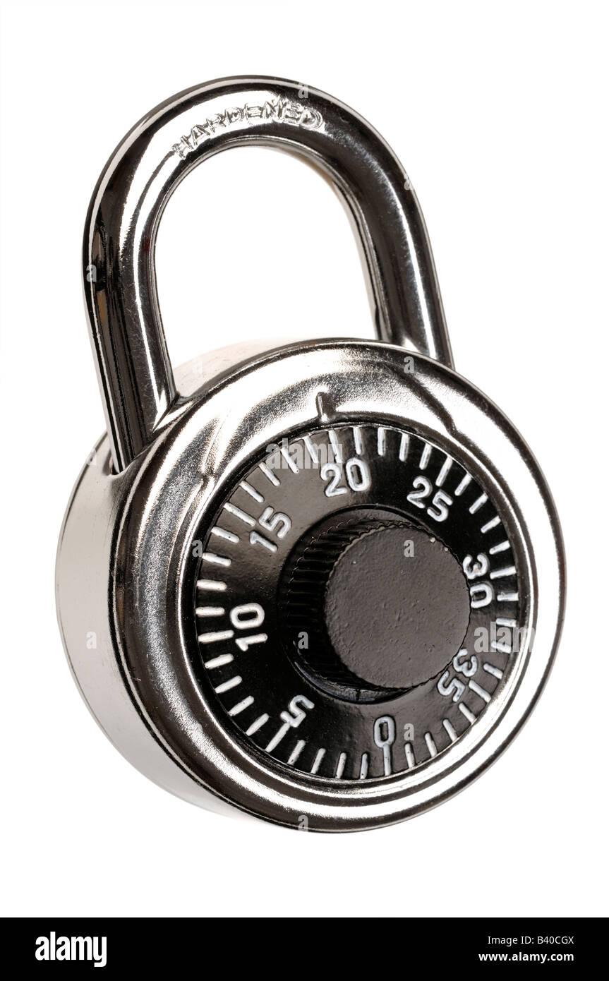 Combination padlock - Stock Image