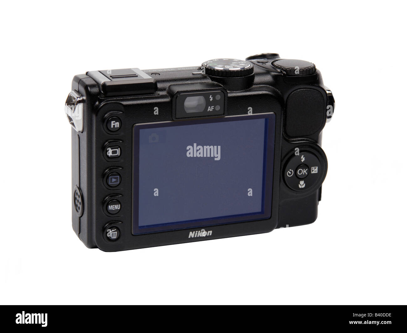 Nikon pocket Digital Camera - Stock Image