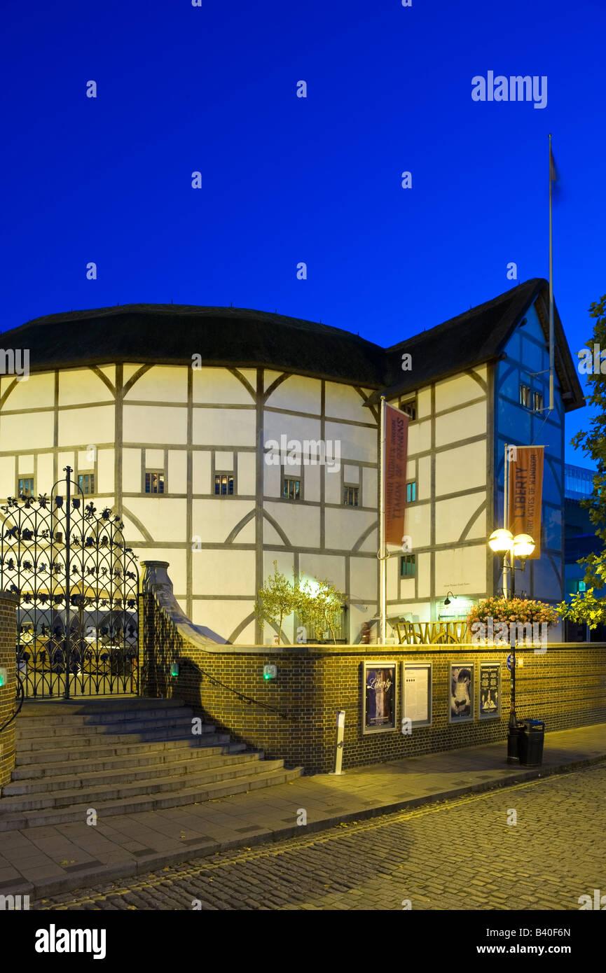 The Globe Theatre London United Kingdom - Stock Image