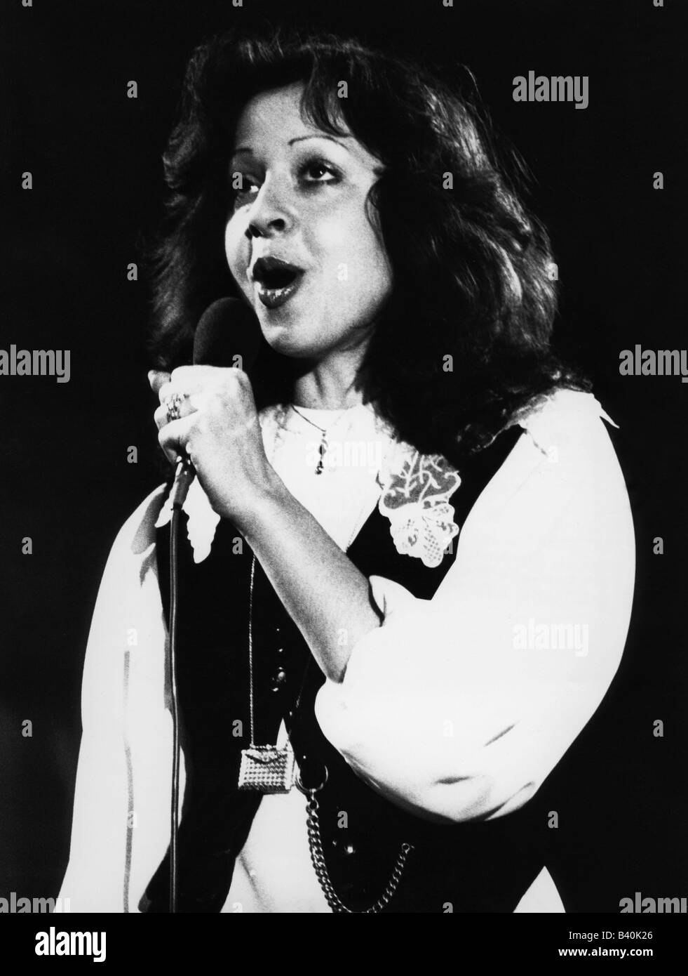 Leandros, Vicky, * 23.8.1948, German-Greek singer,  1970, Additional-Rights-Clearances-NA - Stock Image