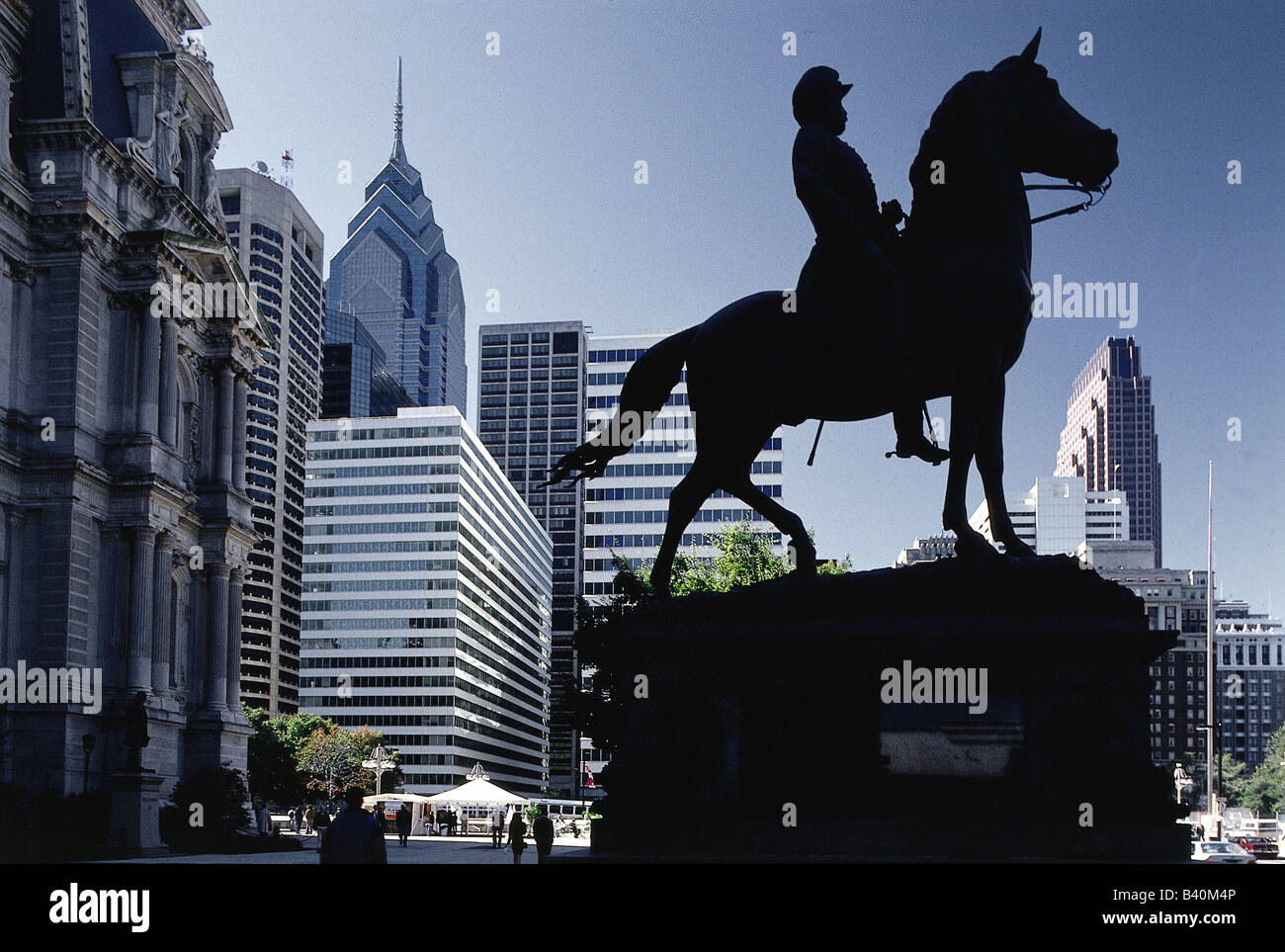 geography / travel, USA, Pennsylvania, Philadelphia, downtown, centre / center, Additional-Rights-Clearances-NA - Stock Image