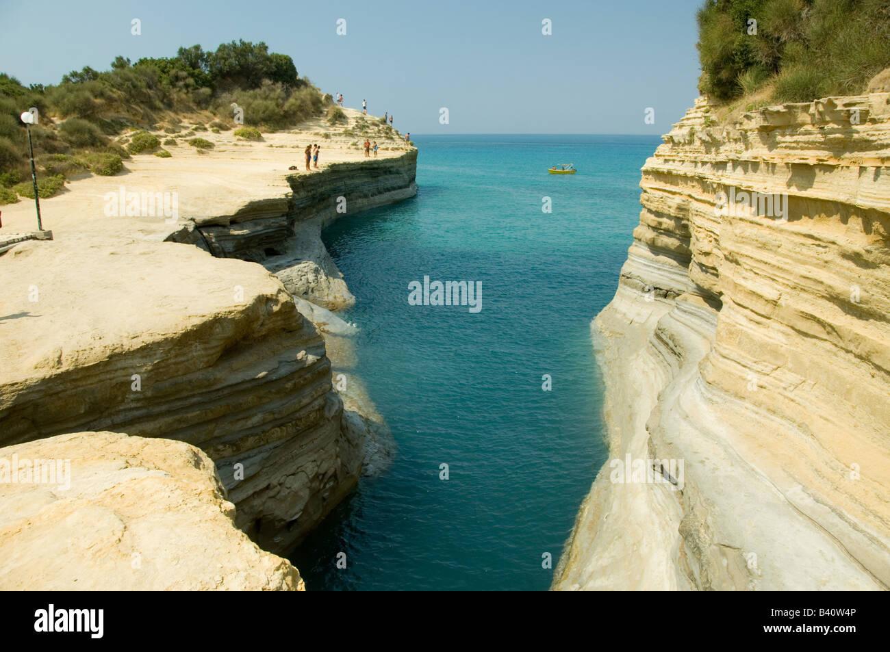 Sidari canal damour