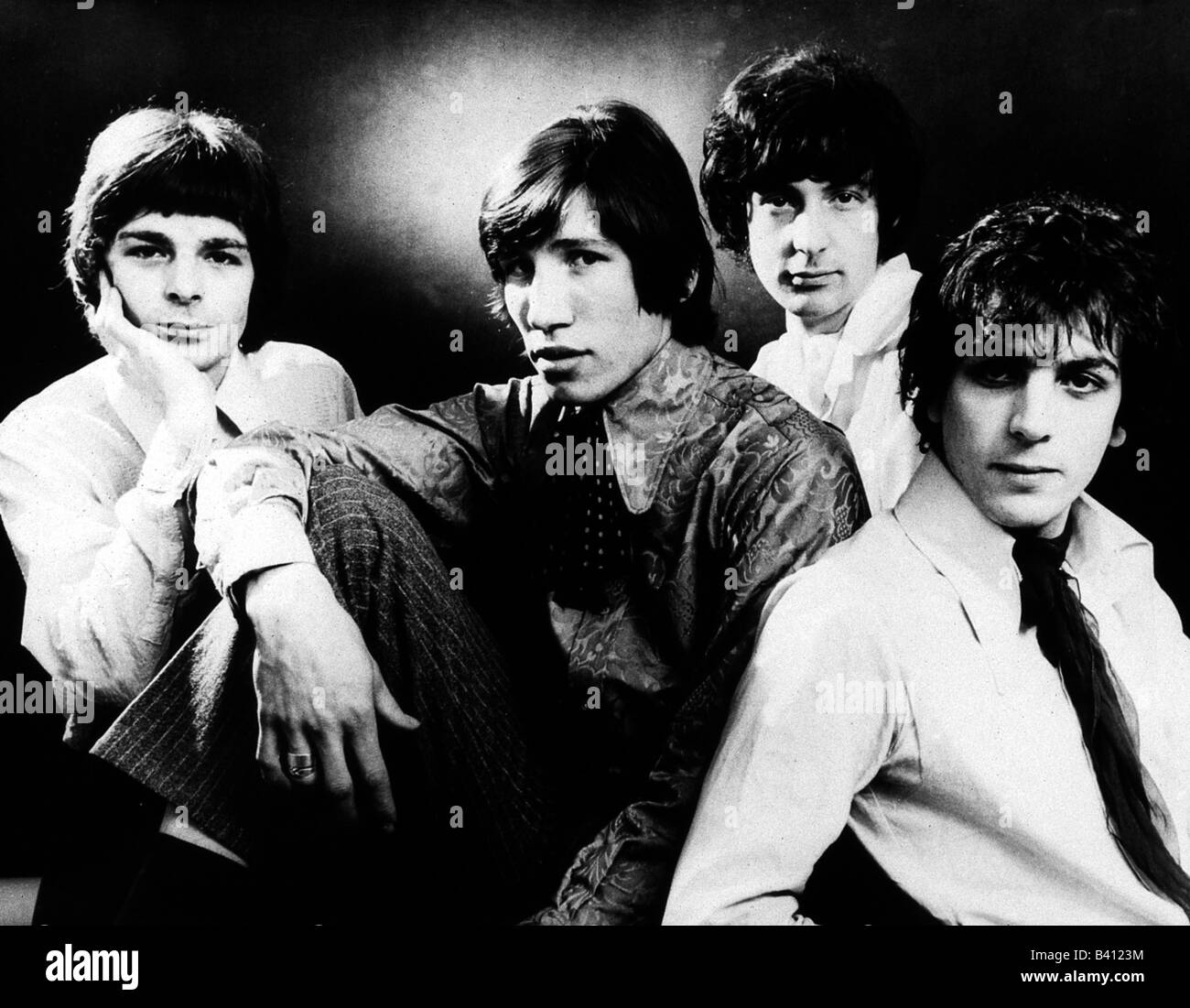 e24b865a Pink Floyd, British pop music band, found in 1965, group picture: Syd  Barrett, Nick Mason, Roger Waters, Richard