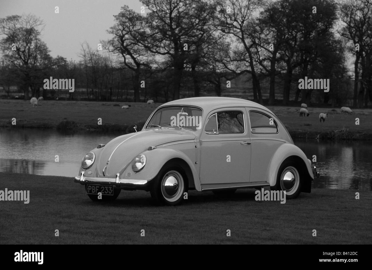 Volkswagen Beetle 1200.  car auto classic retro Stock Photo