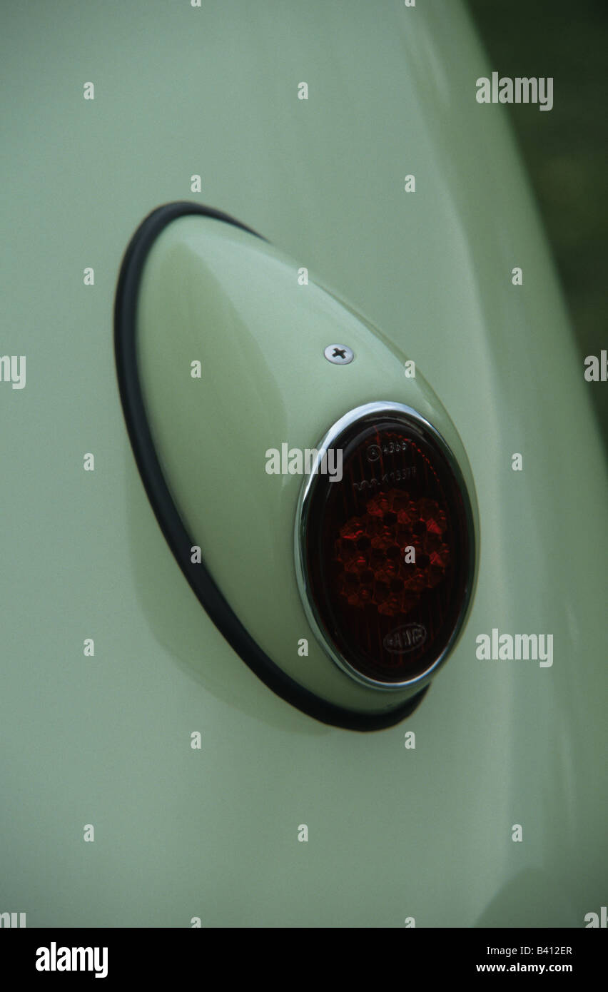 Volkswagen Beetle 1200. car auto classic tail light - Stock Image