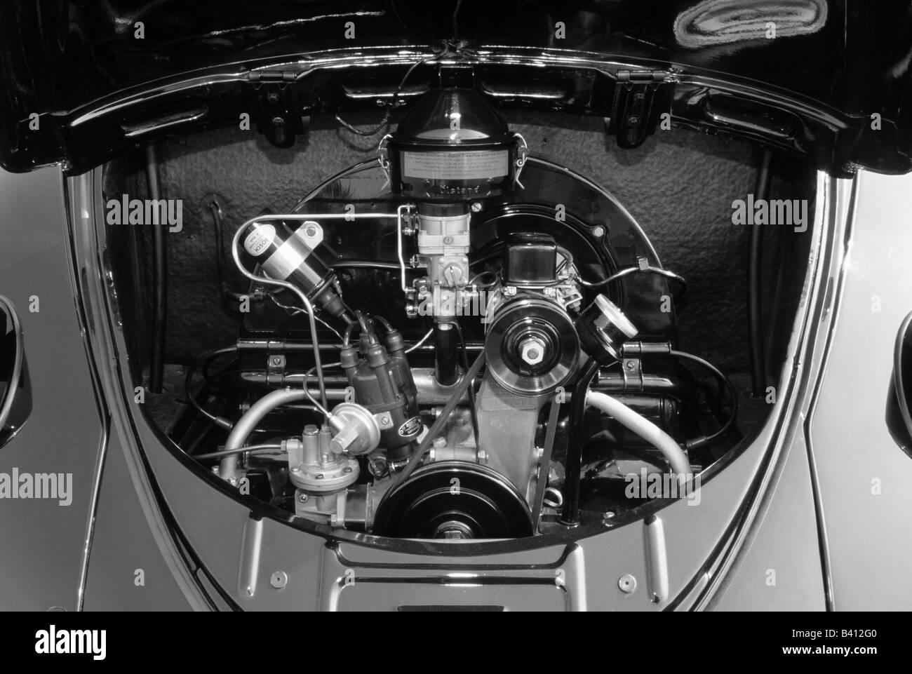 Volkswagen Beetle 1200 of 1959  1192cc  car auto classic engine