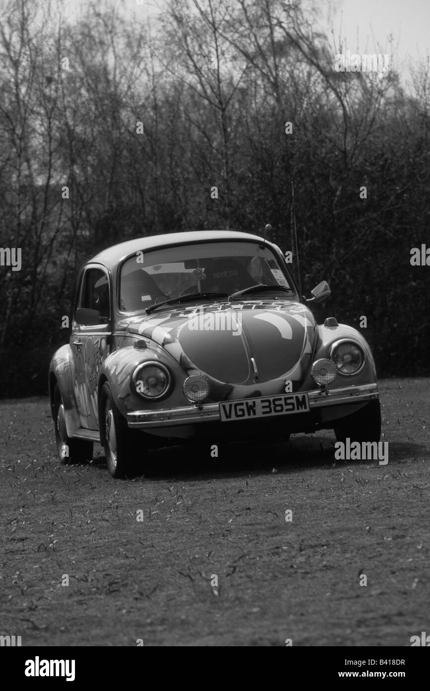 Volkswagen Beetle (Red Nose Day). car auto classic cool iconic Stock Photo