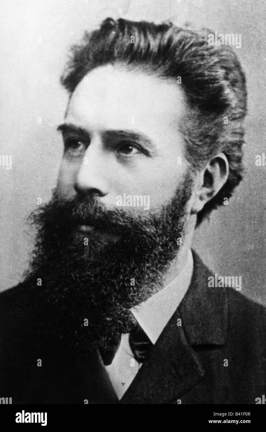 Wilhelm Roentgen High Resolution Stock Photography And