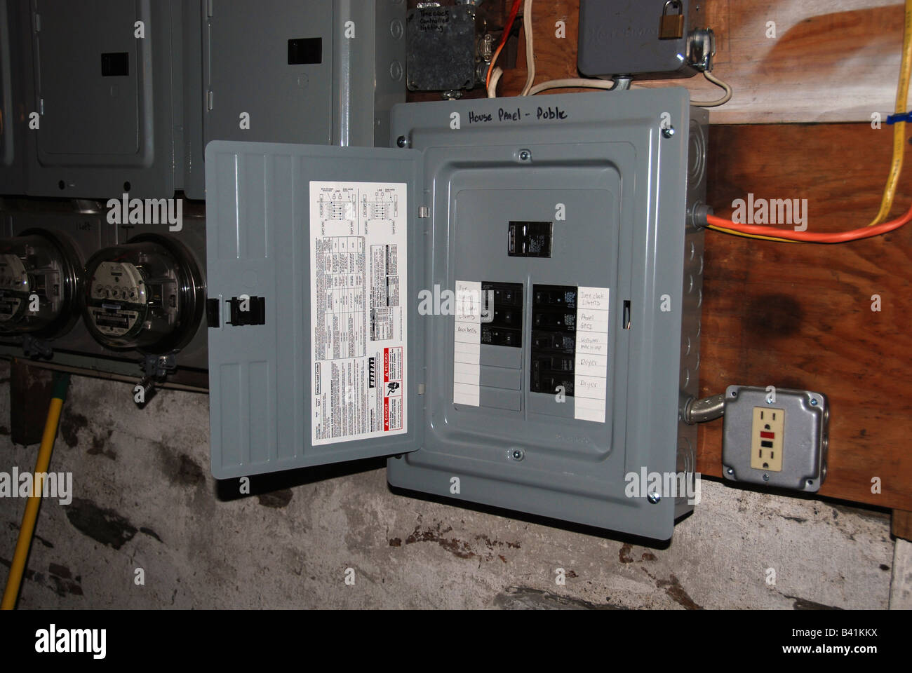 Breaker Box High Resolution Stock Photography And Images Alamy