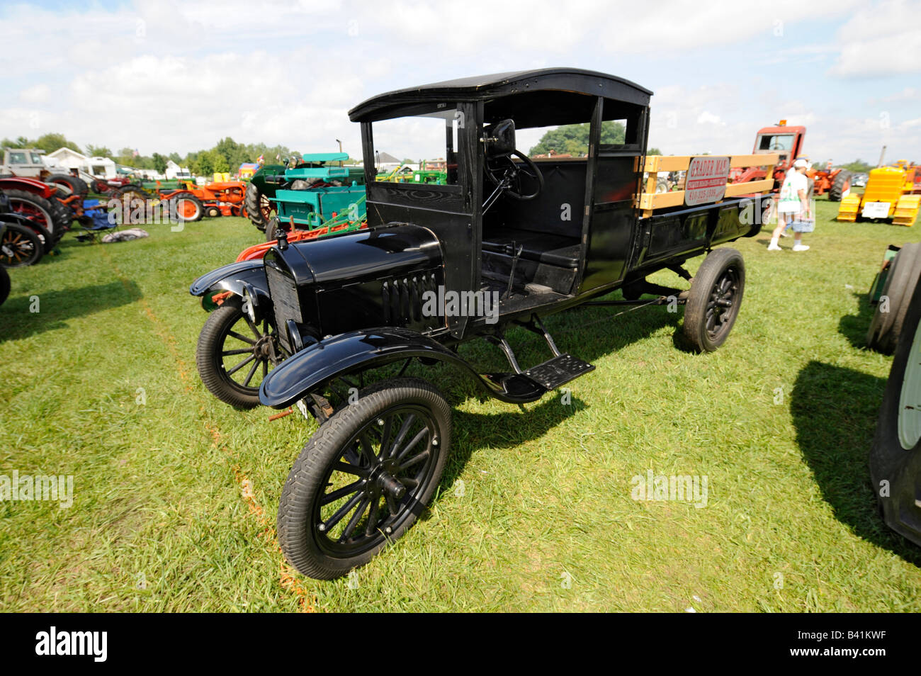 1917 Ford pickup truck - Stock Image