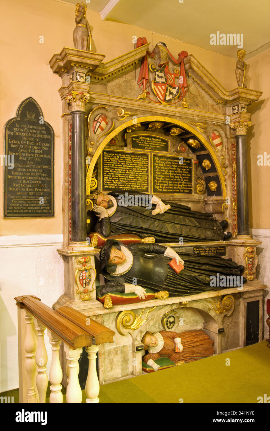 Jacobean Monument In St Peter S Church Petersham Surrey