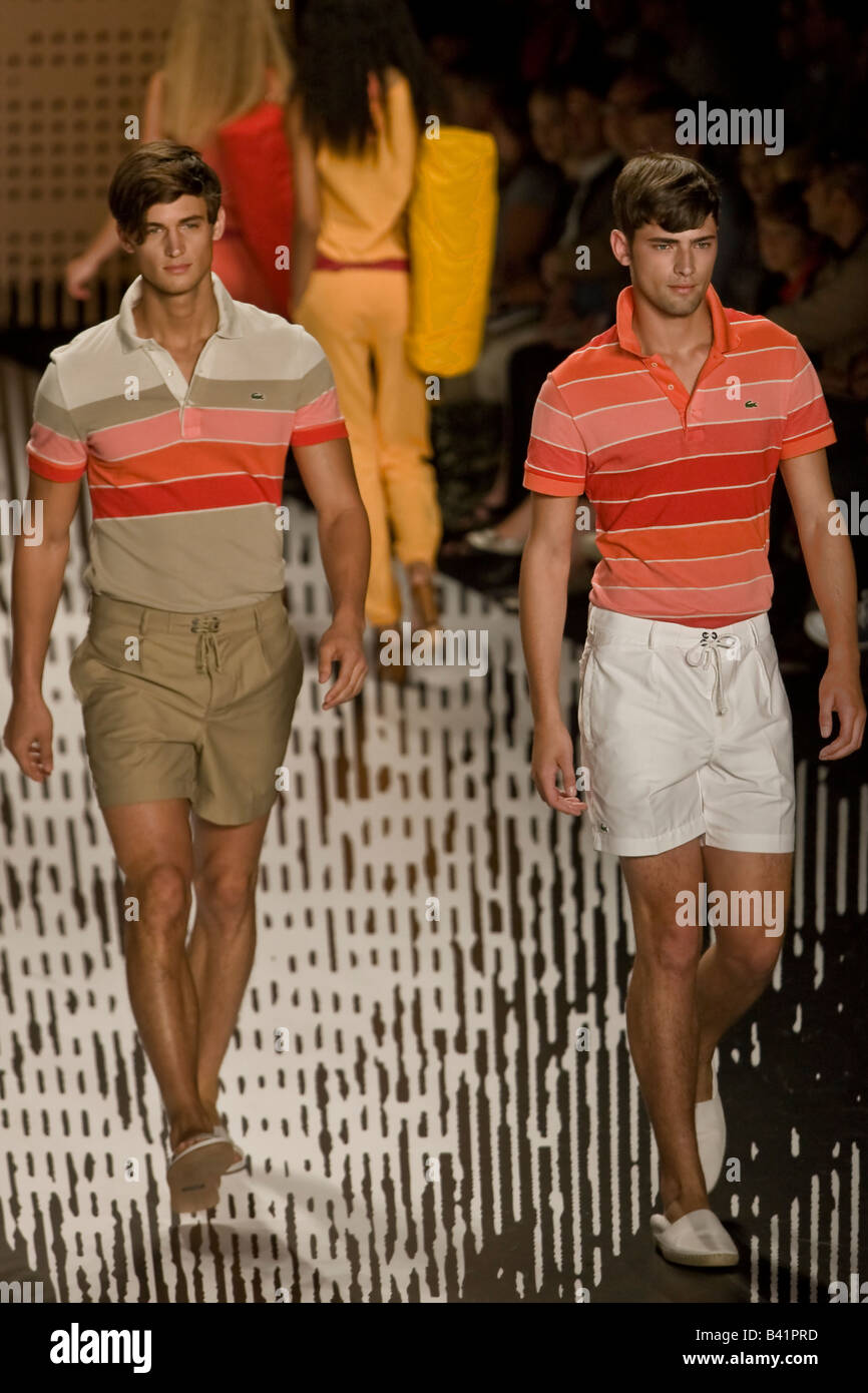 93584a39304 Lacoste presents Spring   Summer 2009 Mens and Womens collection ...