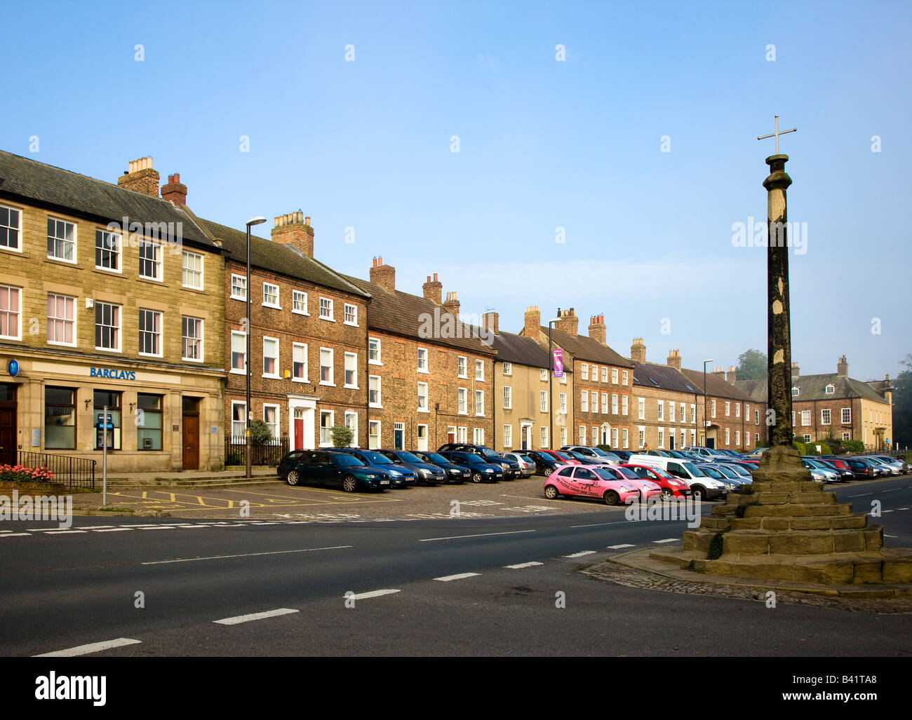 North End Bedale North Yorkshire - Stock Image