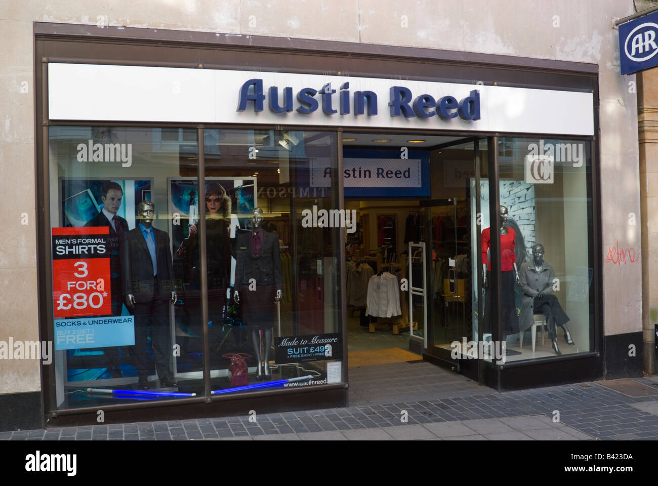 Austin Reed Clothing Shop In Norwich Norfolk Uk Stock Photo Alamy