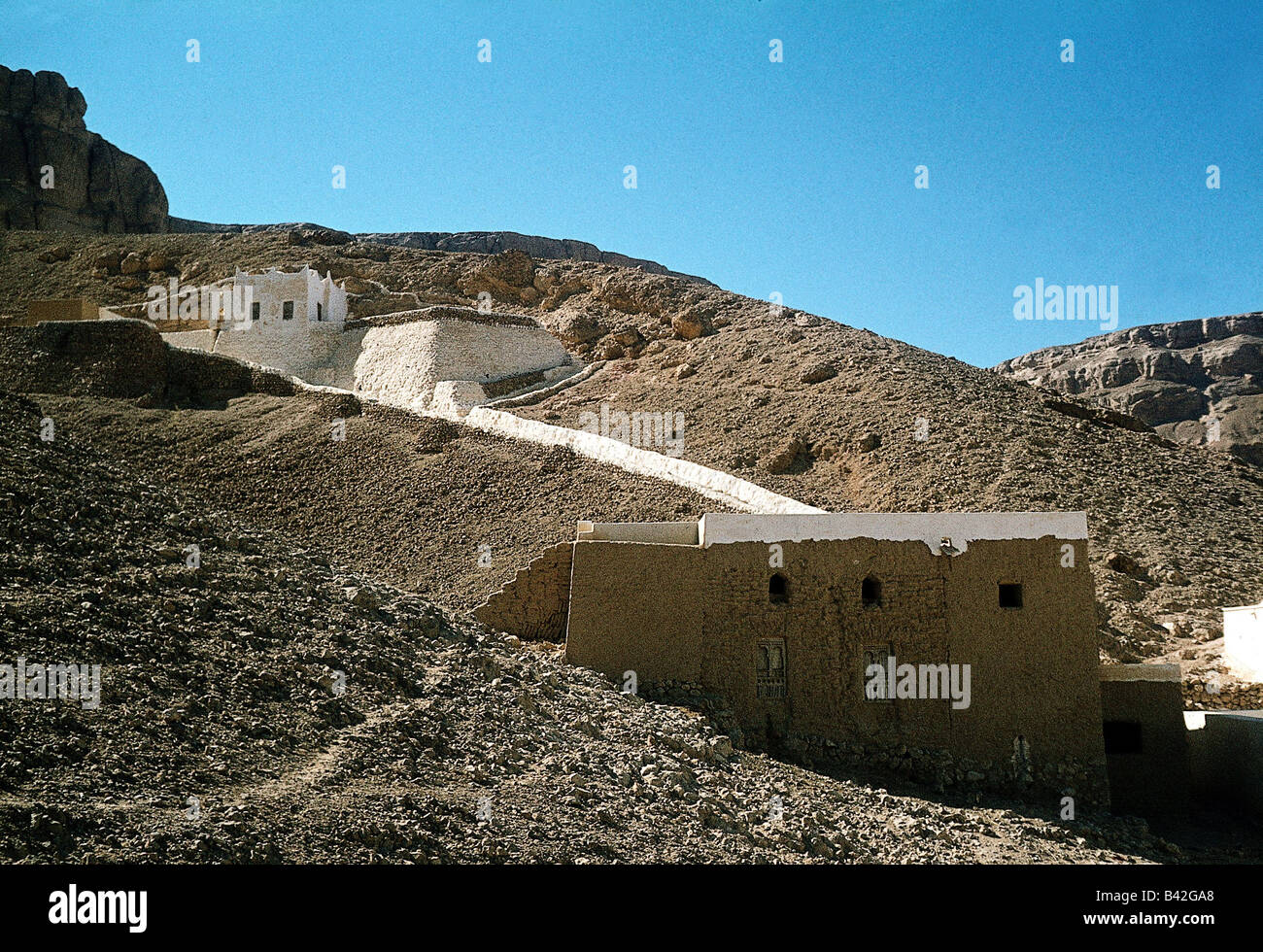 geography / travel, Yemen, Tarim, holy shrine, spiritual centre / center, 1978, Additional-Rights-Clearances-NA - Stock Image