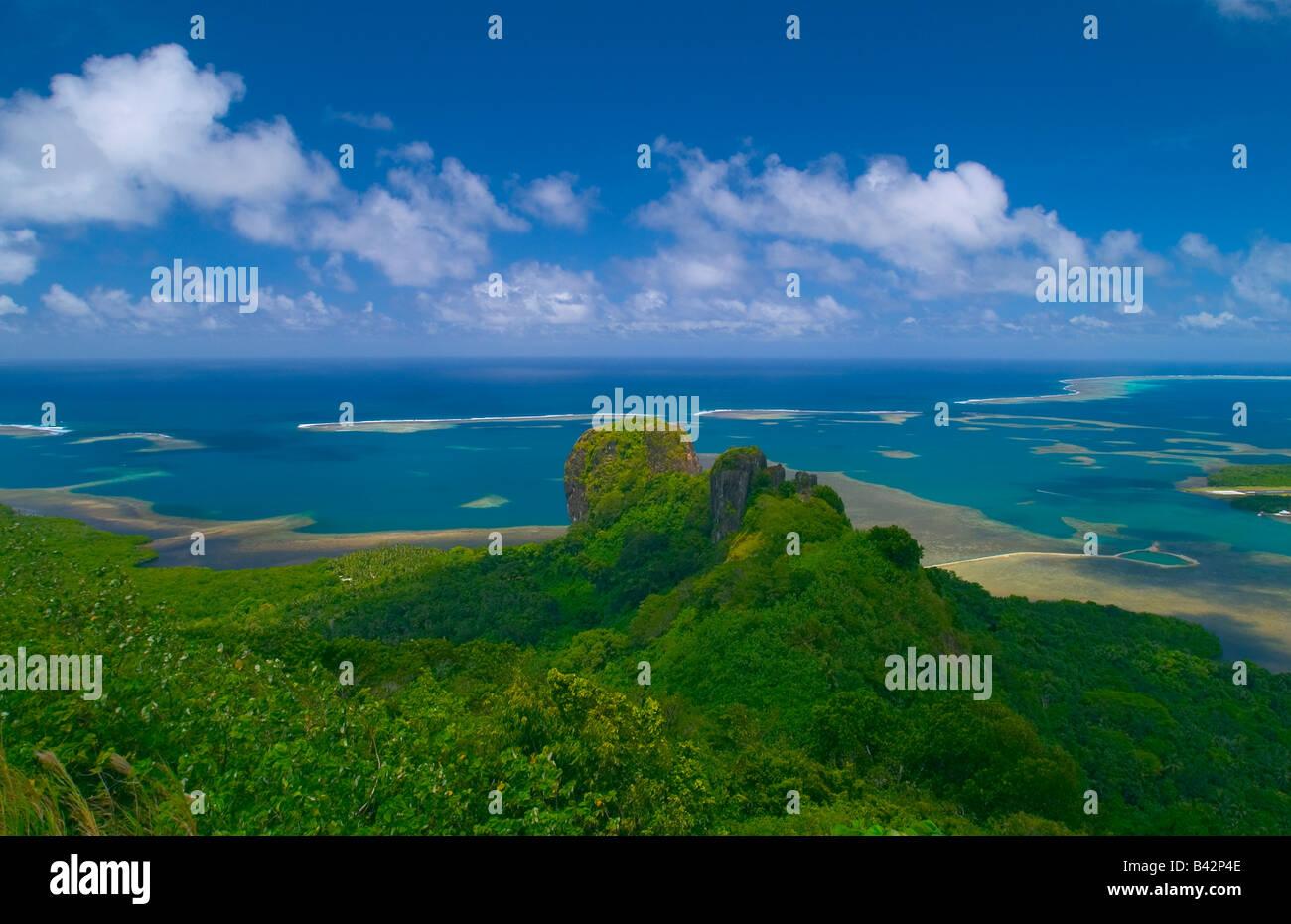 Pohnpei Island Caroline Islands Senyavin Islands Pacific Pohnpei Micronesia - Stock Image