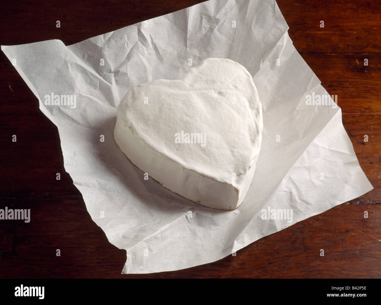 Neufchâtel cheese - Stock Image