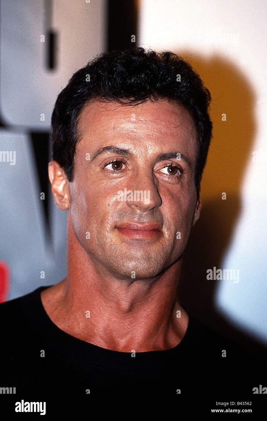Stallone, Sylvester, * 6.7.1946, American actor, portrait, 1993, Additional-Rights-Clearances-NA - Stock Image