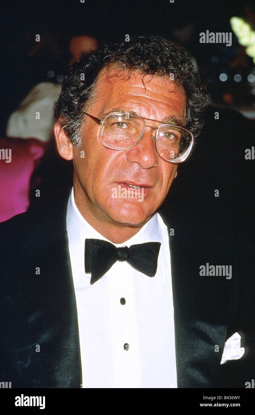 Pollack, Sydney, 1.7.1934 - 26.5.2008, American director, portrait, during Cannes Film Festival, 1986, Additional - Stock Image