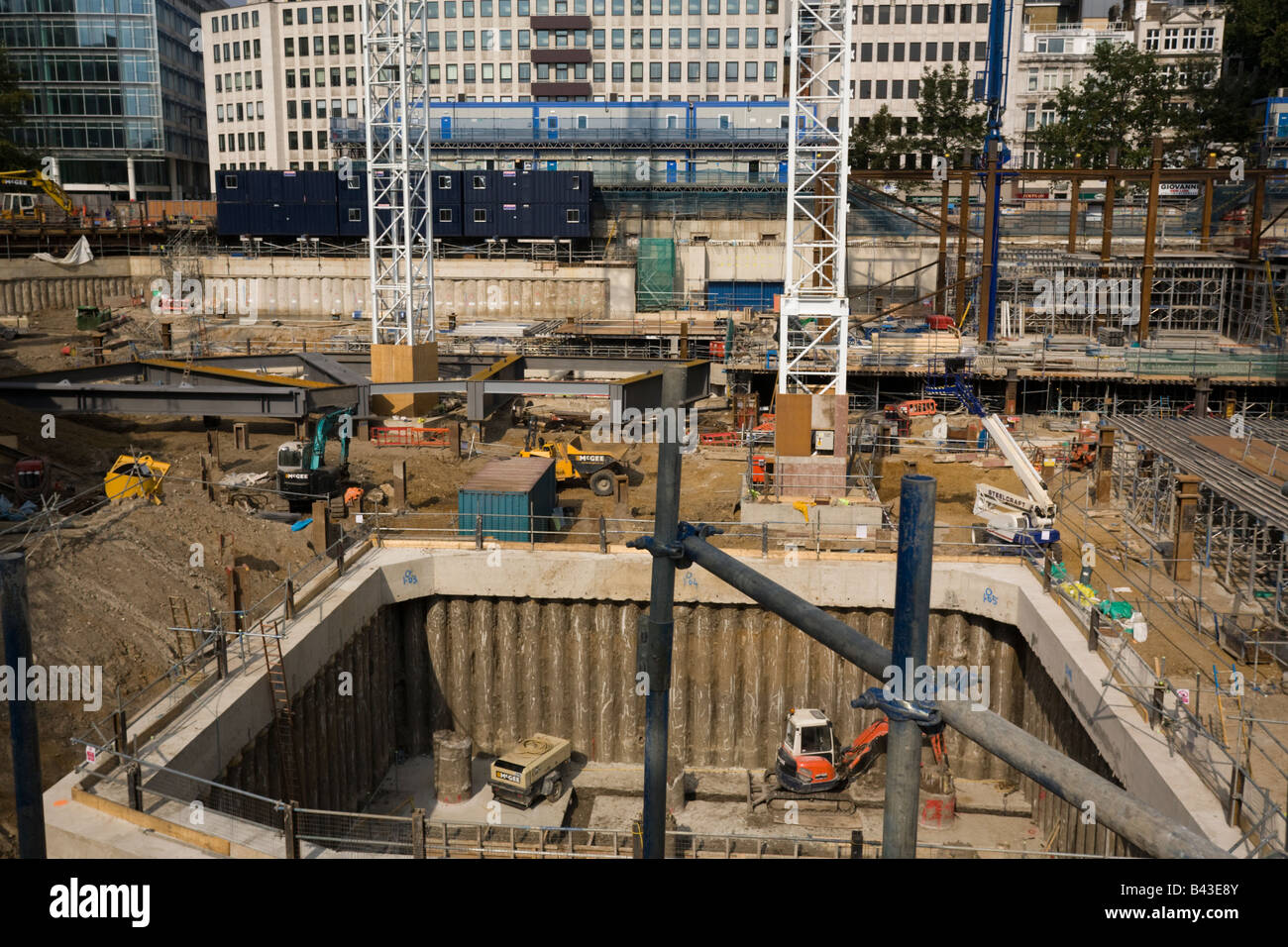 deep foundations to construct buildings Typically, the foundation requirements are determined on a site by site basis in conjunction with a geotechnical engineer a structural engineer will be able to provide loads from the building to the ground and the geotechnical engineer will recommend a suitable foundation system there are two common foundation types, deep and shallow.