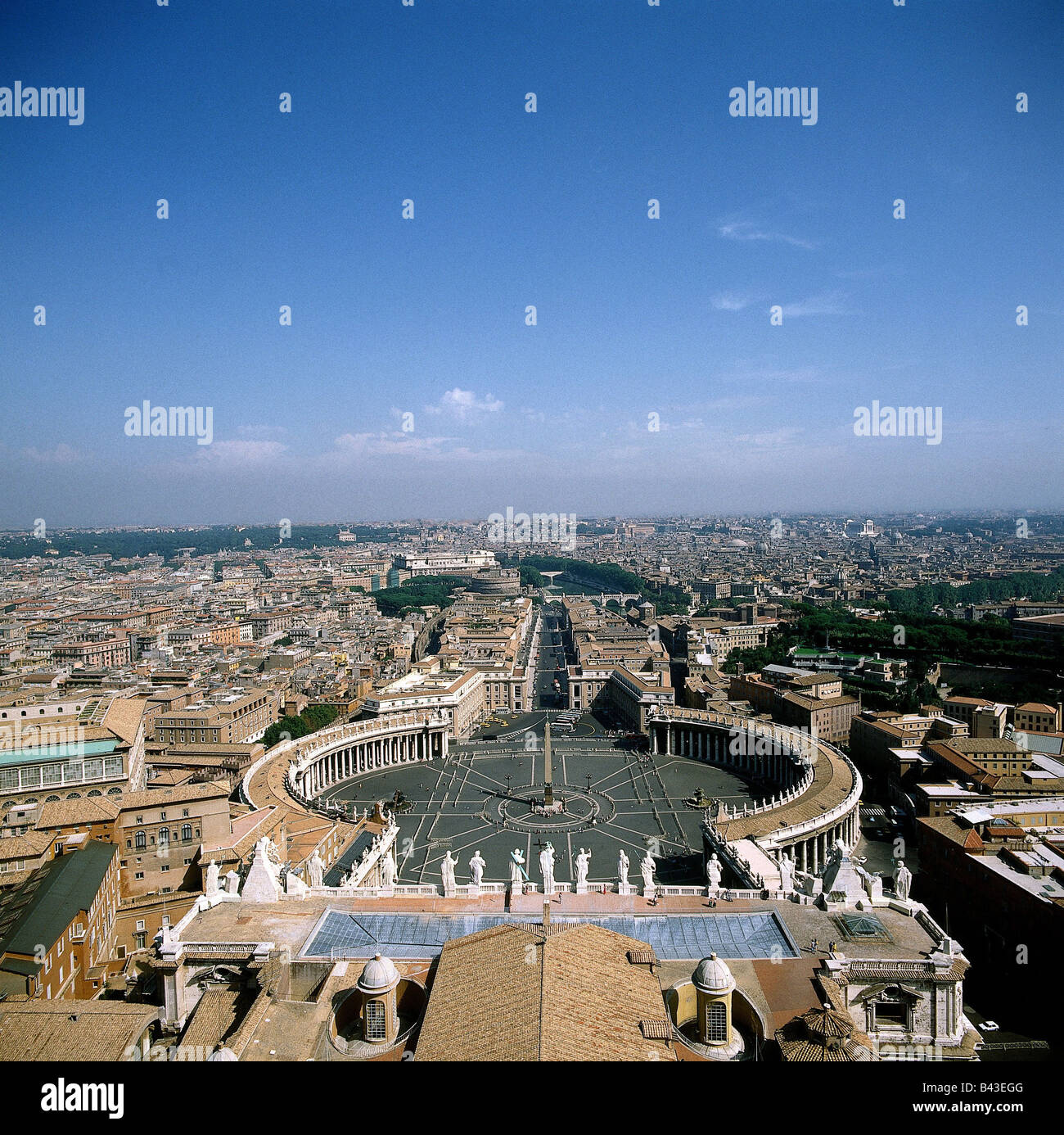 Travel Geography: Geography Travel Italy Rome Vatican Stock Photos