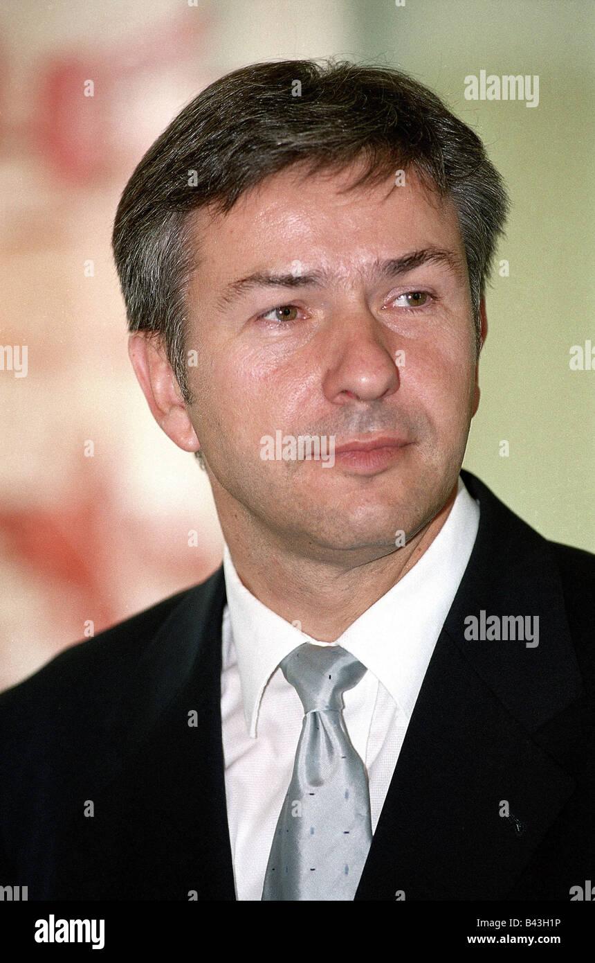 Wowereit, Klaus, * 1.10.1953, German politician (SPD), portrait, 10.7.2001, Stock Photo