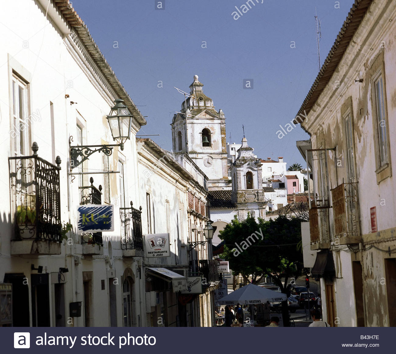 geography / travel, Portugal, Lagos, churches, Santo Antonio Church, old town, Additional-Rights-Clearance-Info - Stock Image