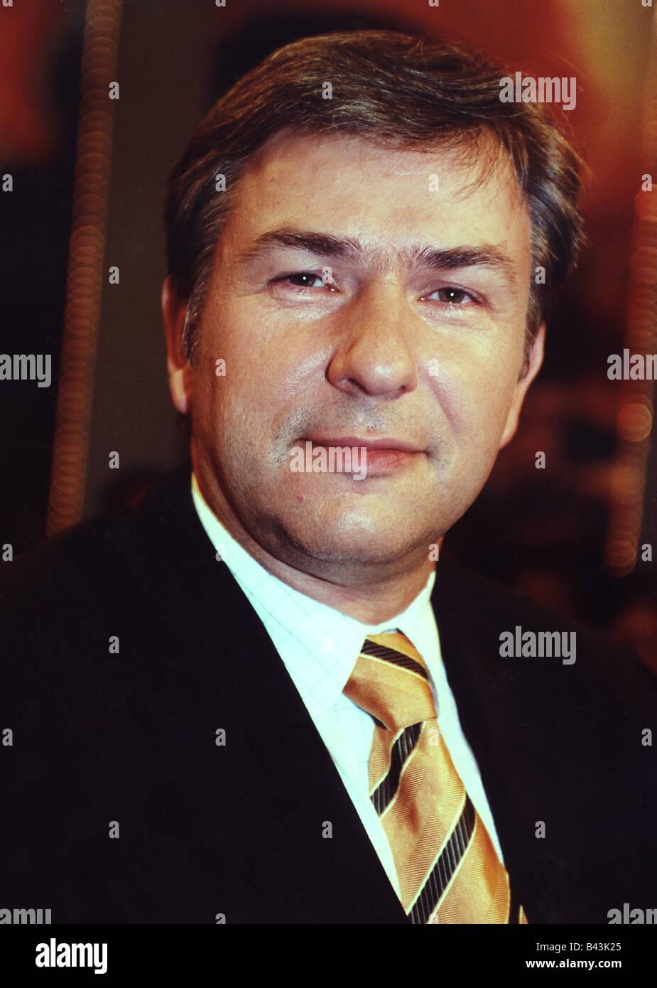 Wowereit, Klaus, * 1.10.1953, German politician (SPD), portrait, 2002, Stock Photo