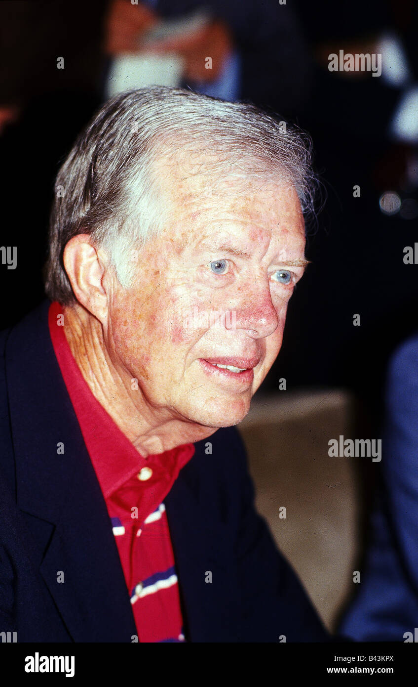 Carter, James 'Jimmy' * 1.10.1924, American politician (Dem.), portrait, Munich, 24.6.1986, , Additional - Stock Image