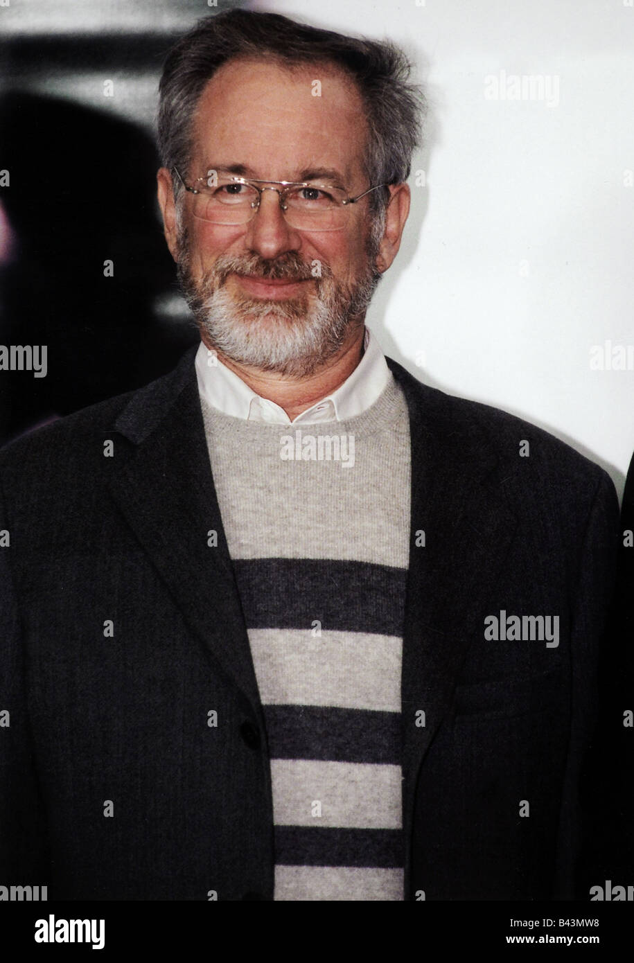 Spielberg, Steven, * 18.12.1946, American director and producer, portrait, premiere: 'Catch me if you can', - Stock Image