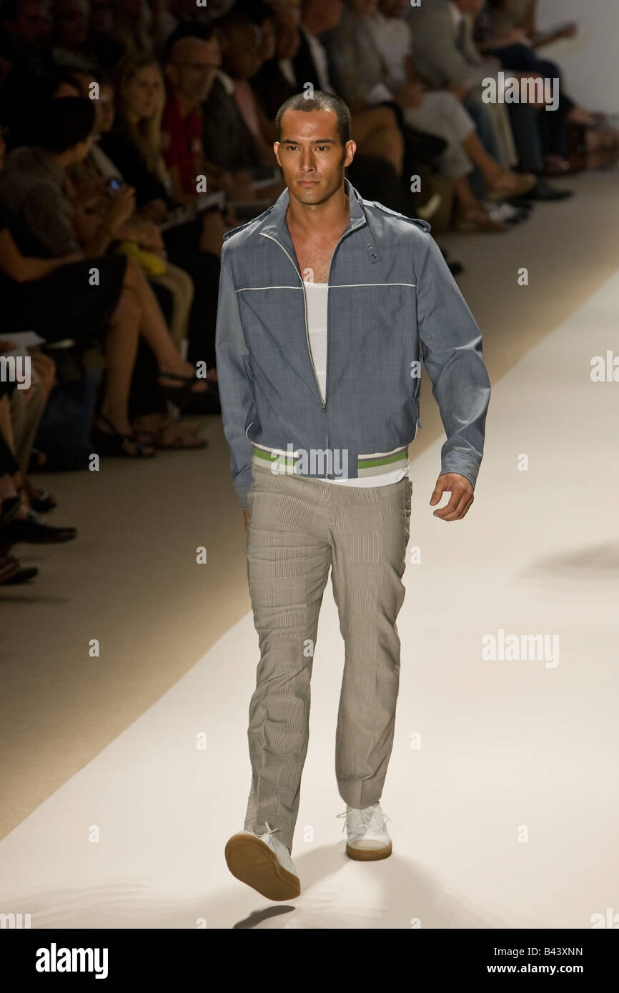 7881d598dfa65 Perry Ellis presents Spring & Summer 2009 Mens ready to wear collectio