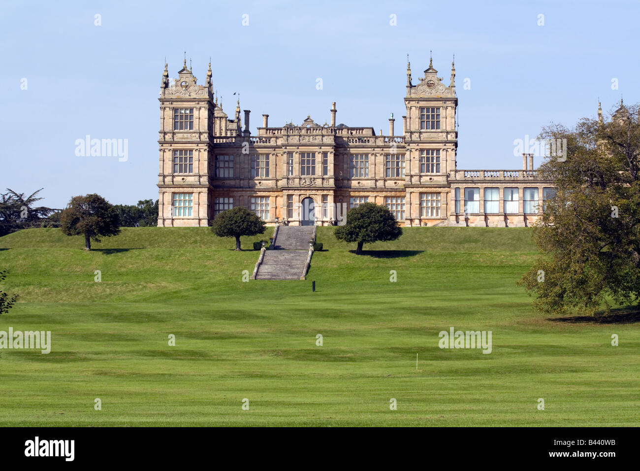 Mentmore Towers Stately Home - Buckinghamshire - Stock Image