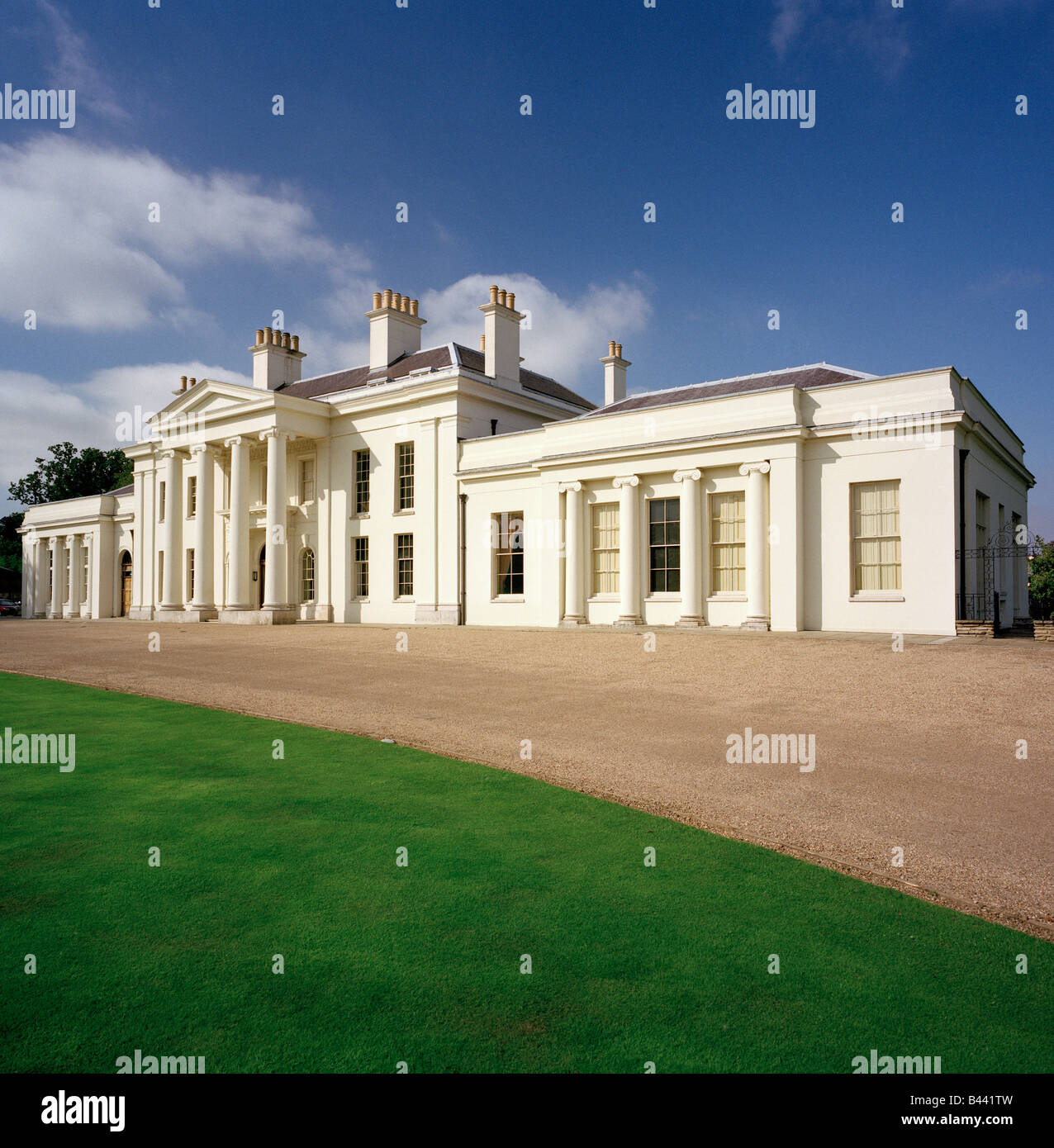 The recently refurbished Hylands House, Chelmsford, Essex, England, UK. - Stock Image