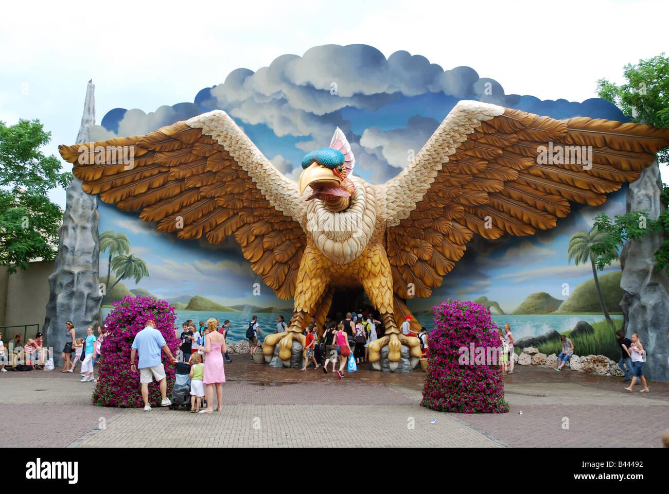 Entrance to droomvlucht attraction efteling theme park for Amusement park netherlands