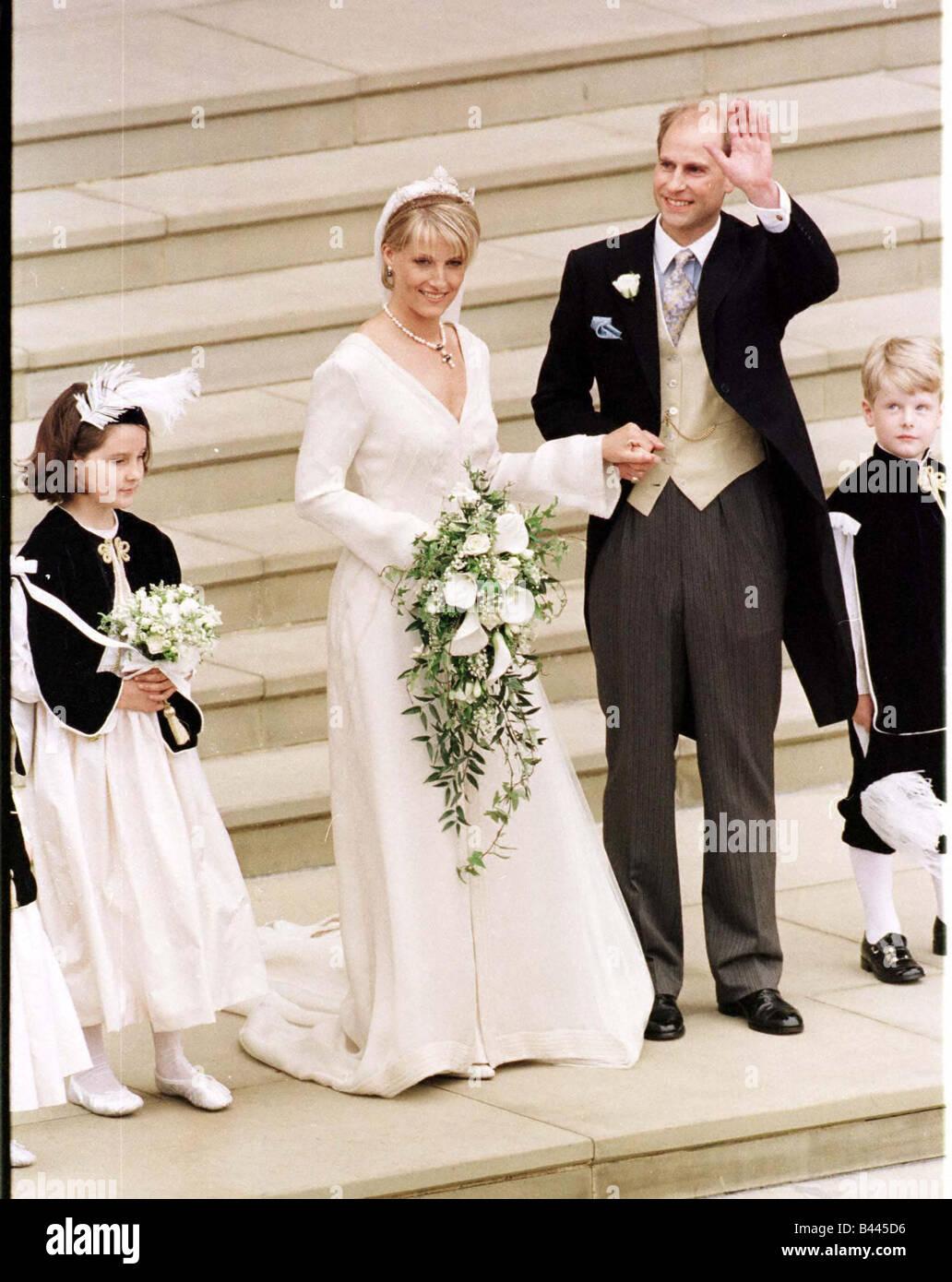 Prince Edward Wedding.Prince Edward Royal Wedding 1999 Wedding Of Sophie Rhys