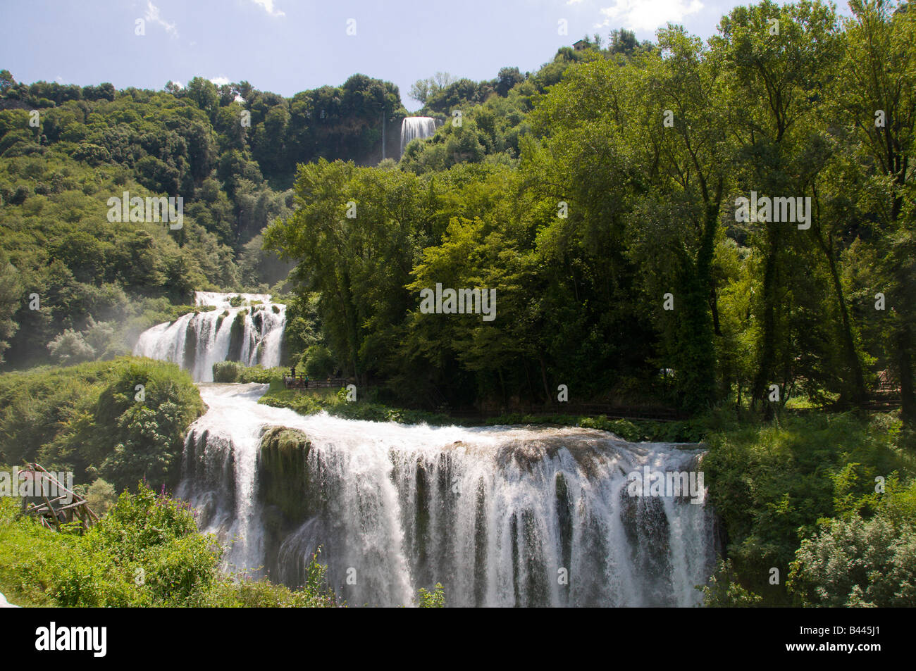 Marmore waterfall, Umbria, Italy, Europe - Stock Image