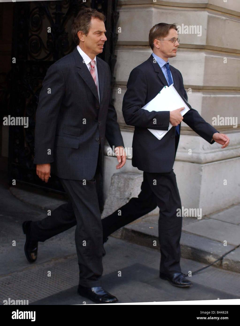 Tony Blair July 2003 - Stock Image