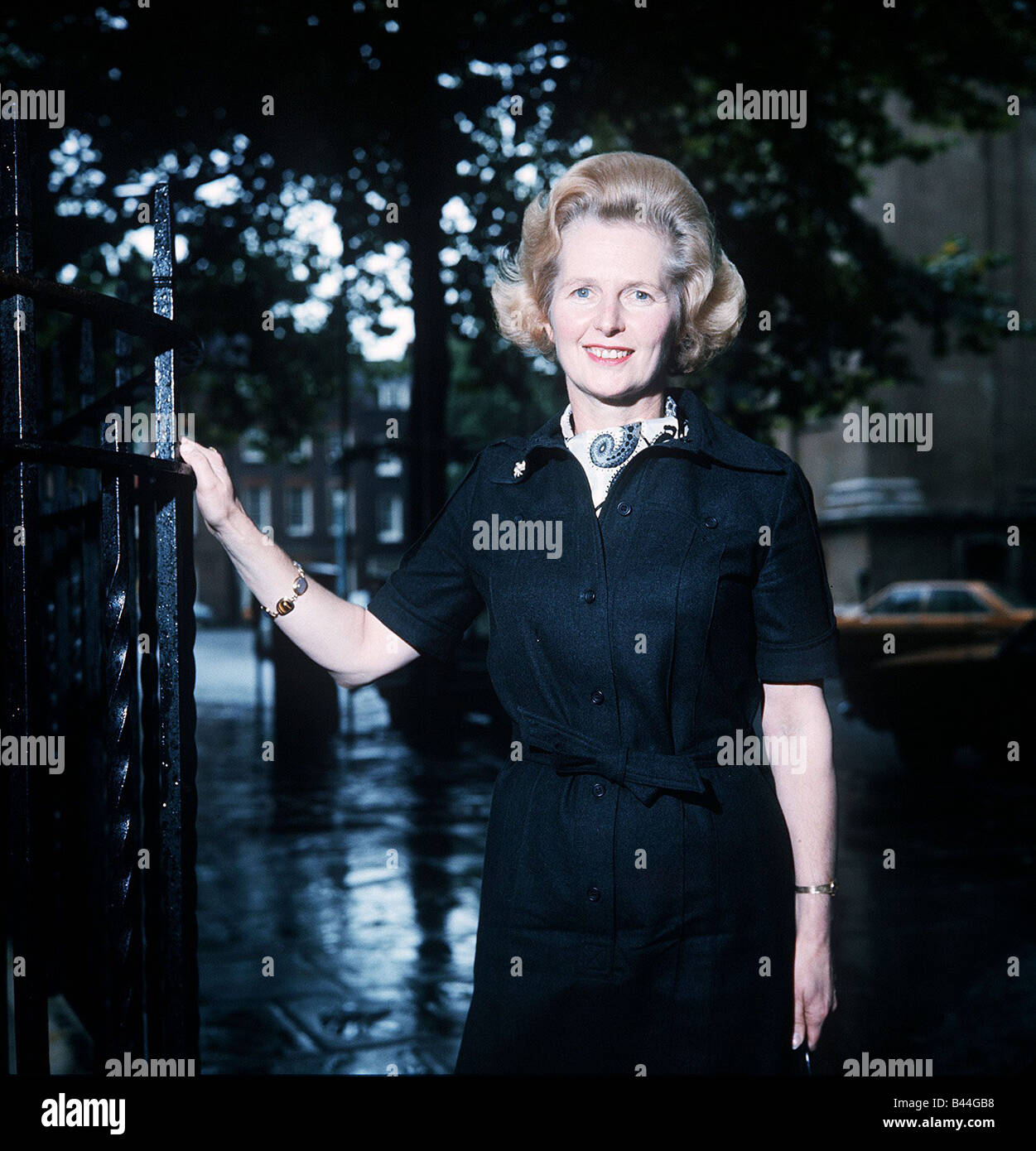 Margaret Thatcher MP Conservative Party 1975 - Stock Image